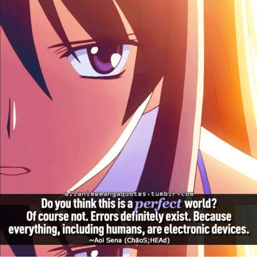 A Anime Quotes Tumblr Com Memang Do You Think This Is A Perfect