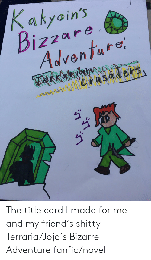 A Ayoin's Izzare Adventare Rusaders the Title Card I Made