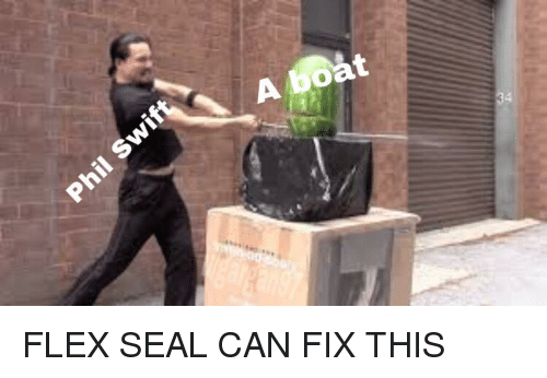 Flexing Reddit And Seal A Bo Flex Can Fix This