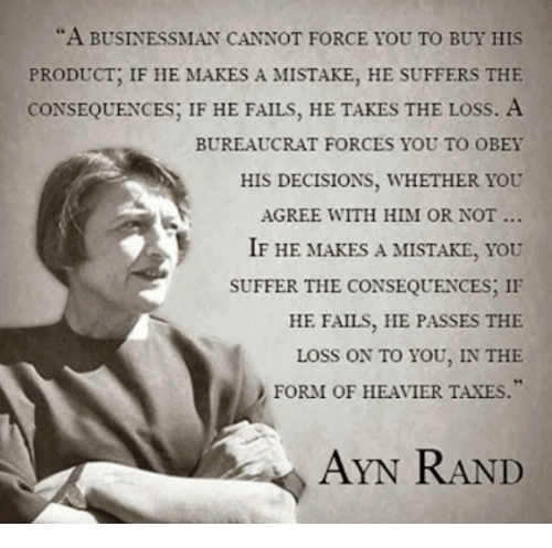 a businessman cannot force you to buy his product if 10696621 ✅ 25 best memes about ayn rand ayn rand memes