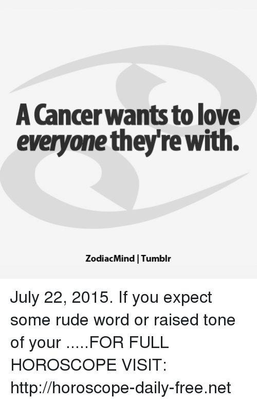 cancer 2015 horoscope love
