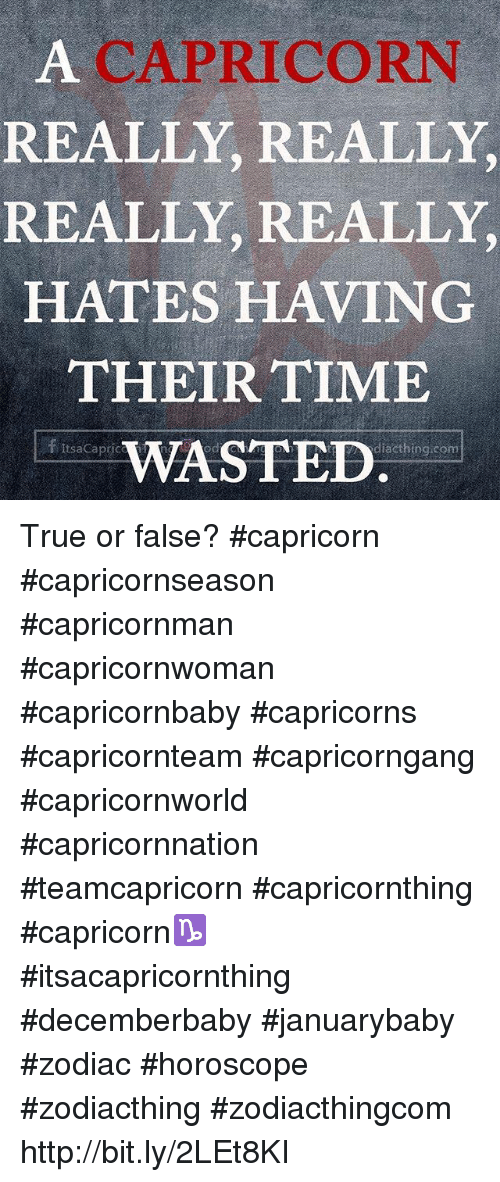 why are capricorns