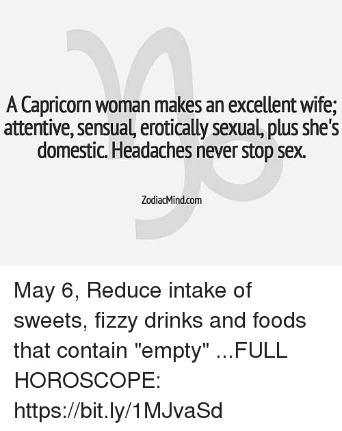 capricorn as a wife