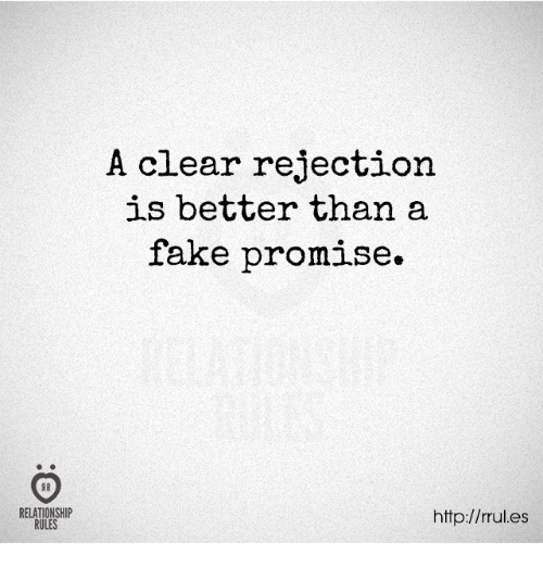 SHEREE: How to accept rejection in a relationship