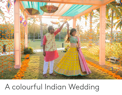 Wedding, Indian, and Indian Wedding: A colourful Indian Wedding