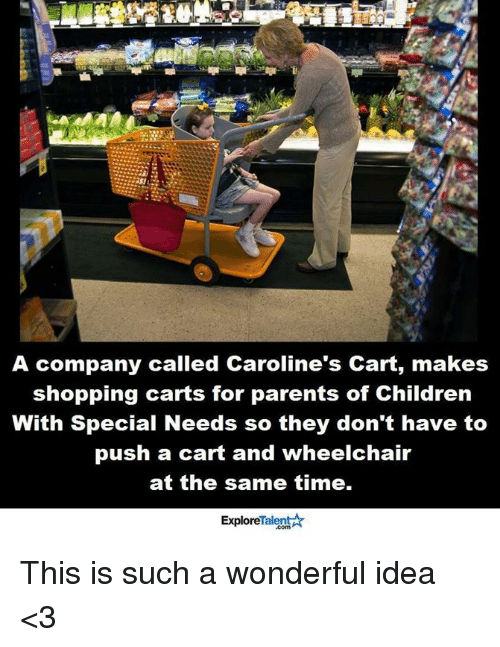a company called carolines cart makes shopping carts for parents 6068237 ✅ 25 best memes about wheelchair wheelchair memes
