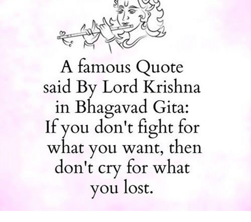 Image of: Wordsonimages Memes Lost And Fight Famous Quote Said By Lord Krishna In Bhagavad Crayond Famous Quote Said By Lord Krishna In Bhagavad Gita If You Dont