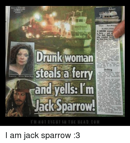 a ferry drunk woman steals a ferry drifting and yells 7565381 a ferry drunk woman steals a ferry drifting and yells i'm jack