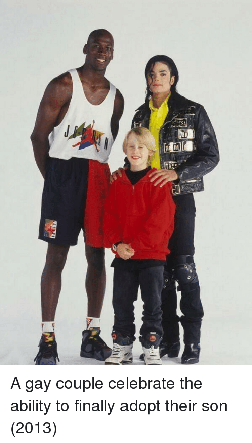 Ability, Gay, and Son: A gay couple celebrate the ability to finally adopt their son (2013)