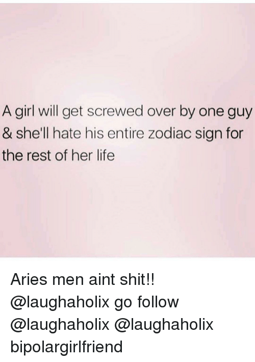 How to get over an aries man