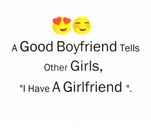 who is a good boyfriend