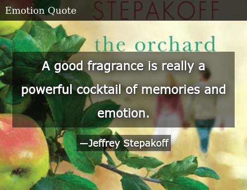 A Good Fragrance Is Really a Powerful Cocktail of Memories