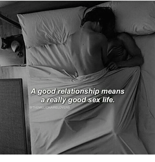 What makes a good sex life
