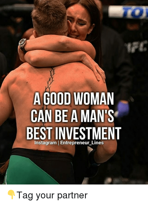 a good woman can be a mans best investment instagram 14384980 a good woman can be a man's best investment instagram l