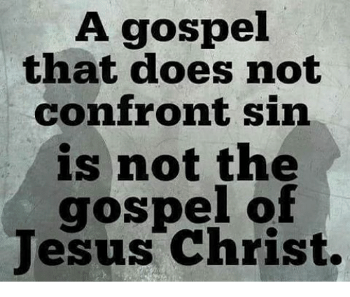 Memes, 🤖, and Sin: A gospel that does not confront sin is not