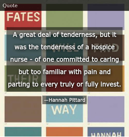 A Great Deal of Tenderness but It Was the Tenderness of a ...