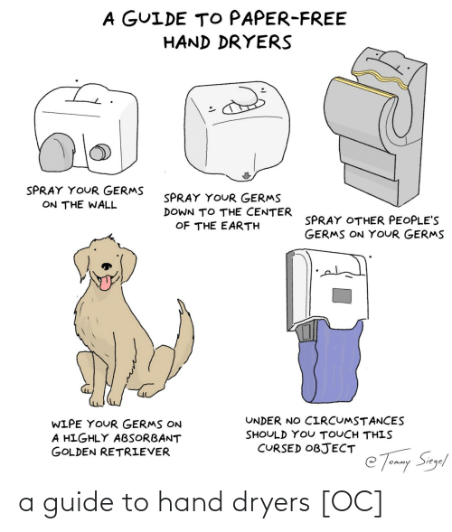 Guide, Hand, and Guide To: a guide to hand dryers [OC]