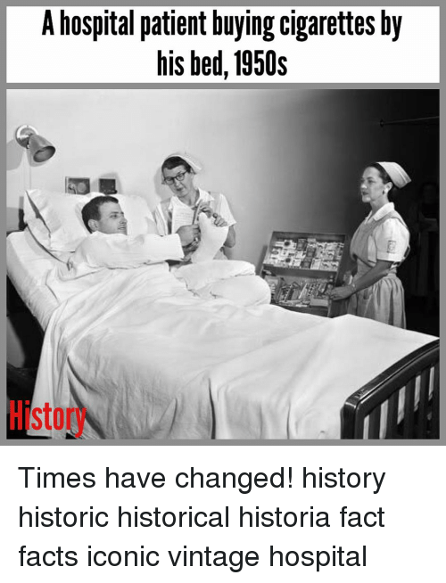 a hospital patient buying cigarettes by his bed 1950s times 16213964 a hospital patient buying cigarettes by his bed 1950s times have