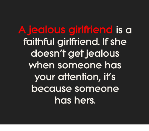 How To Handle A Jealous Girlfriend