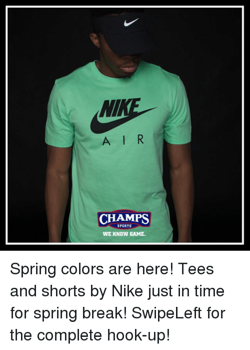 baee732fb394 A L R CHAMPS SPORTS WE KNOW GAME Spring Colors Are Here! Tees and ...