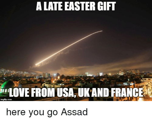 A late easter gift love from usaukand france easter meme on me easter love and france a late easter gift love from usaukand negle Choice Image
