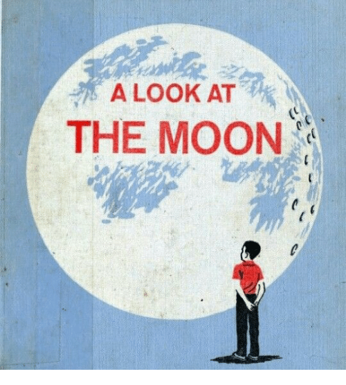 Moon, The Moon, and Look: A LOOK AT  THE MOON