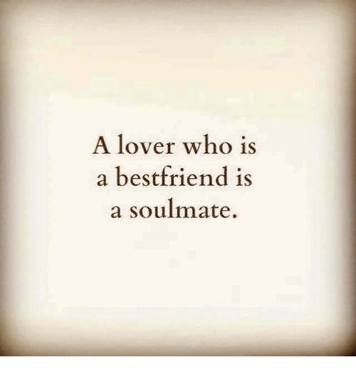 lover and a friend