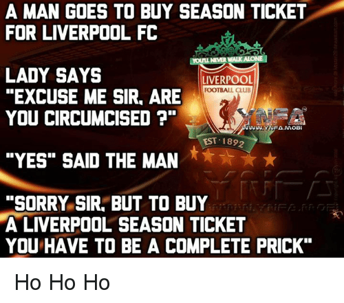 a man goes to buy season ticket for liverpool fc 9501861 a man goes to buy season ticket for liverpool fc youll