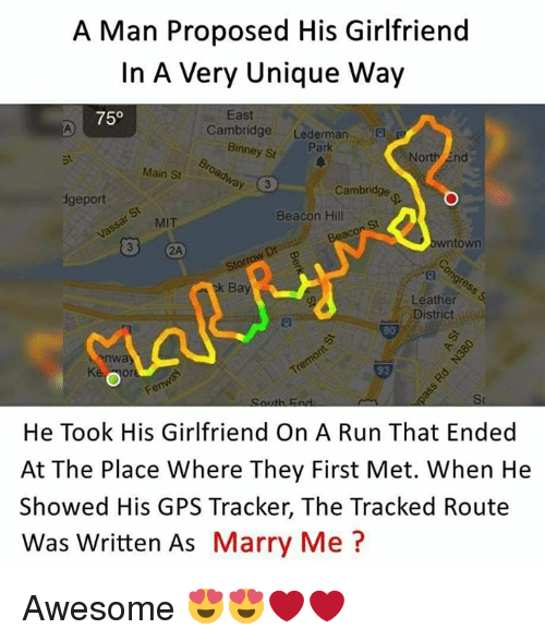 Unique ways to propose to a man