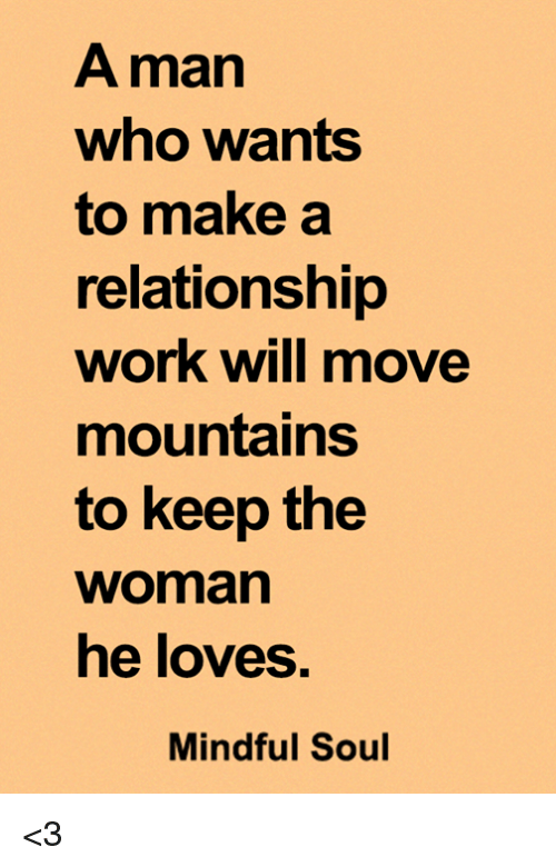 how can you make a relationship work