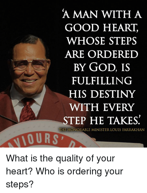 man with good heart