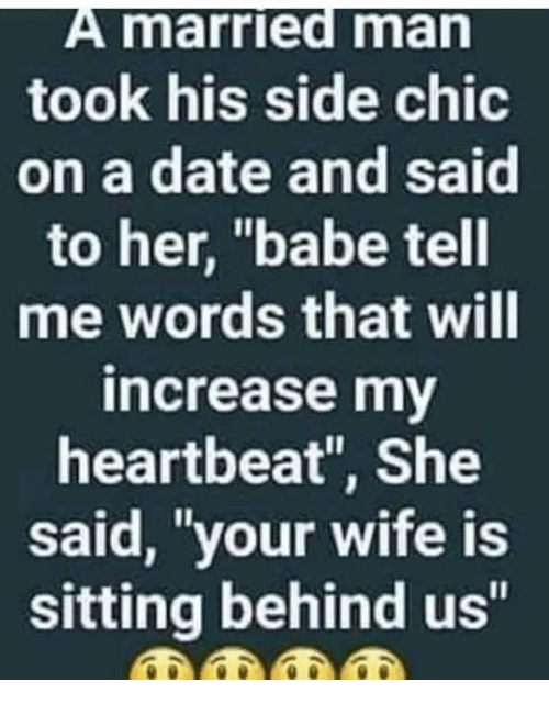 dating a married man should i tell his wife