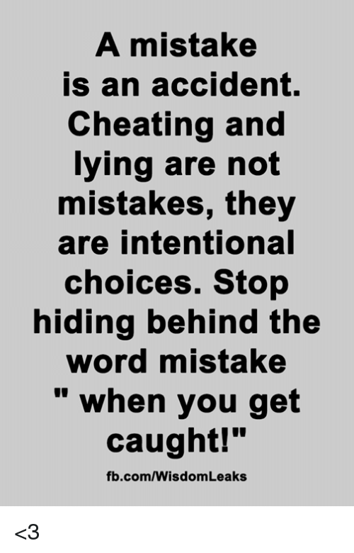 how to stop being a cheating
