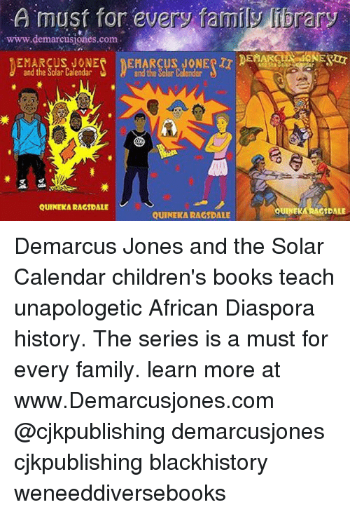 A Must for Every Family Fibrary Wwwdemarcusionescom and the Solar