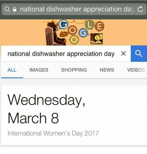 National Dishwasher Appreciation Day Search Appreciation