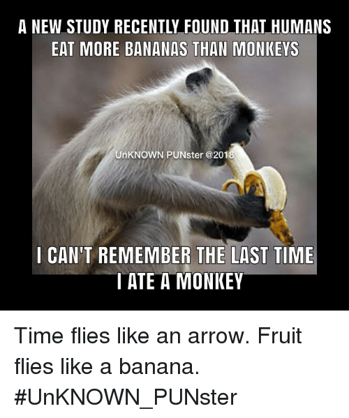 A New Study Recently Found That Humans Eat More Bananas Than Monkeys