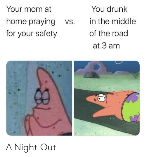 Night,  Night Out, and Out: A Night Out