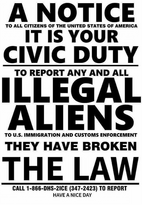 an overview of the illegal aliens in the united states Person born in the united states to resident aliens became a us and illegal aliens, 22 which tracks the language of the citizenship clause and states.