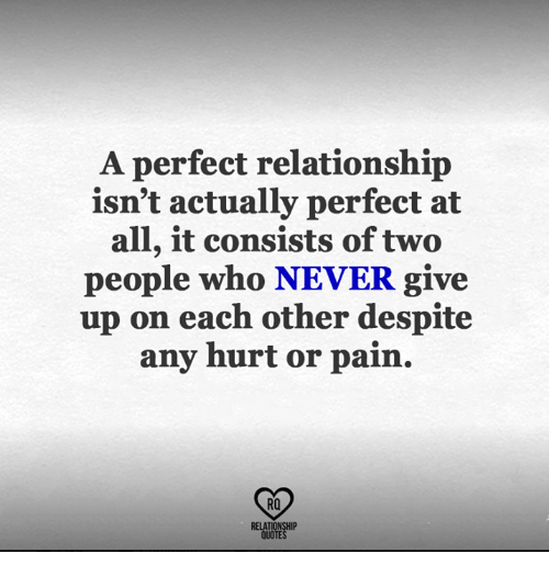 A Perfect Relationship Isn\'t Actually Perfect at All It ...