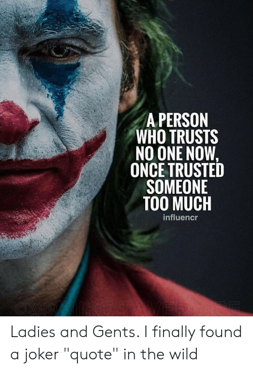 a person who trusts no one now once trusted someone too much