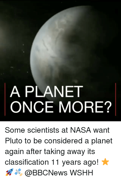 pluto the planet that once was