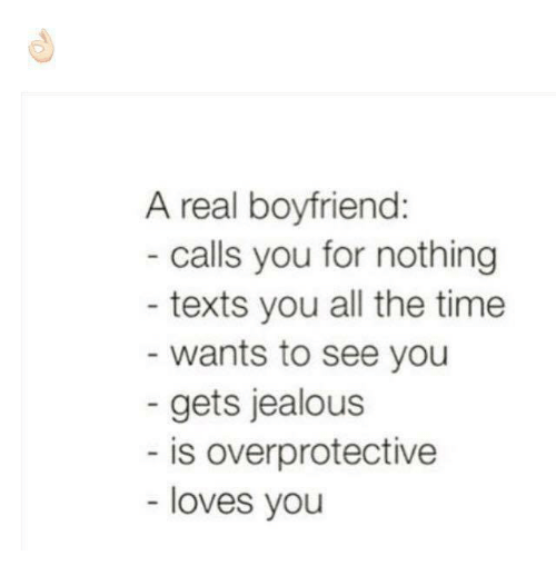 Signs of an overprotective boyfriend