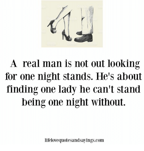 Finding a one night stand