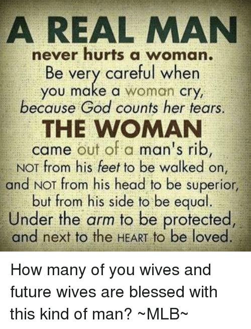 when a man cries for a woman