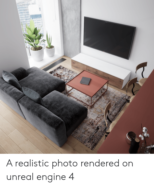 A Realistic Photo Rendered on Unreal Engine 4 | Unreal Meme