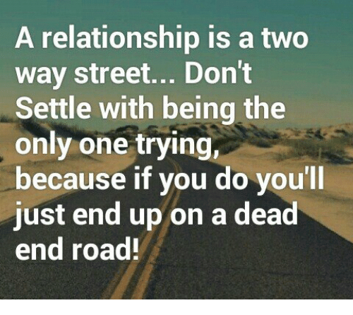 Should you settle in a relationship
