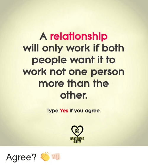 how to tell if a relationship will work
