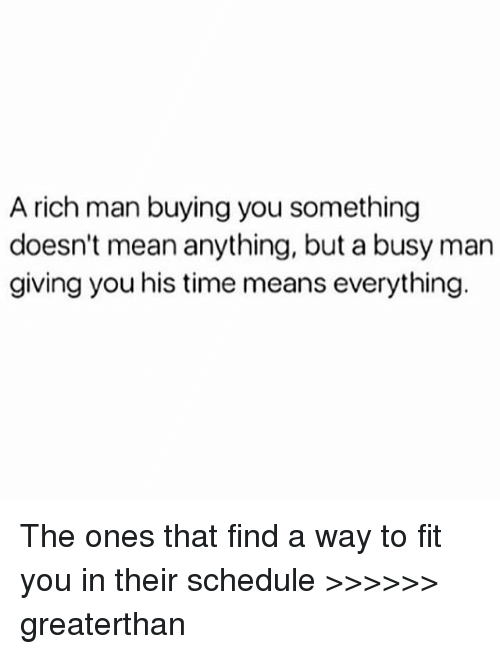 how to find a rich man