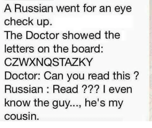 Russify your computer