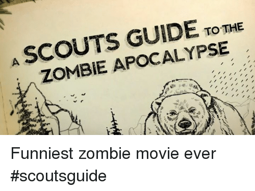 'Scouts Guide to the Zombie Apocalypse' Interview - YouTube